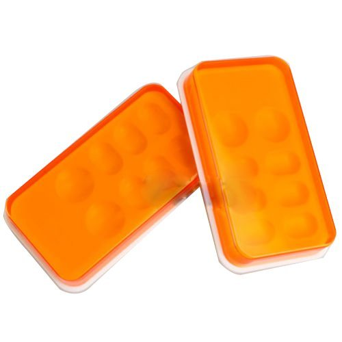 Earlywish 2pcs Dental Synthese Acryl Harz Zahn Schattierung Licht Aufbewahrungsbox Farbe Toning