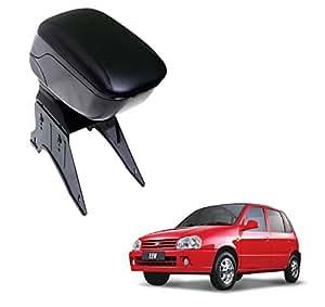 Auto Hub Premium Quality Car Armrest Console for Maruti Suzuki Zen - Black Color