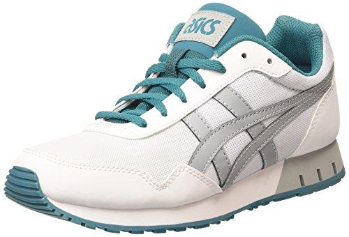 Asics Curreo Unisex-erwachsene Sneaker Weiß (bianco / Grigio Chiaro 0113)