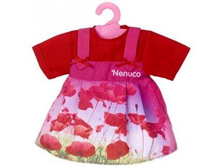 Nenuco t16820 : robe rouge - habit poupee 42 cm - vetement poupon