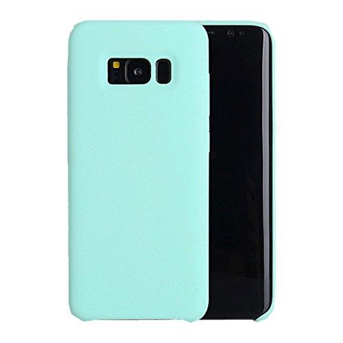 Samsung Galaxy S8 Plus Hülle,Samsung Galaxy S8 Silikon Schutzschale vor Stürzen und Stößen Silikon Handyhülle für Samsung Galaxy Note 8 (Samsung Galaxy S8 Plus, Mint Green) (Samsung Kurve Galaxy)