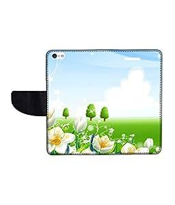 KolorEdge Printed Flip Cover For Apple IPhone 5 Multicolor - (43KeMLogo09262IPhone5)