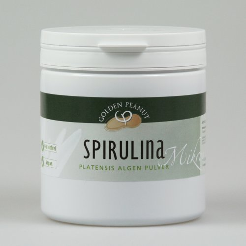 Spirulina Platensis Algen Pulver Einzelfuttermittel für Hunde und Katzen 500 g Dose