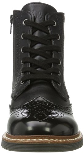 s.Oliver Damen 25465 Combat Boots Schwarz (Black)