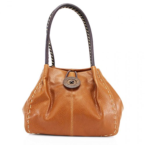 Craze london, Borsa a spalla donna Brown