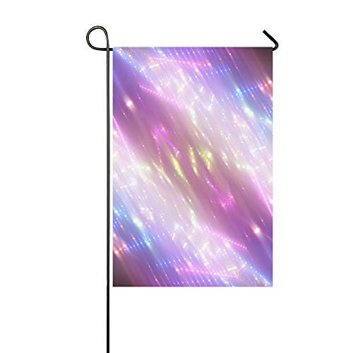 HujuTM Flag Holidays Lights Custom Garden Flags Outdoor Flag 12x18 Fashion Flag Without Flagpole (Switch Custom Light)