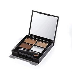 Makeup Revolution Focus & Fix Eyebrow Shaping Kit Medium Dark