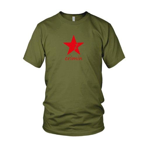 T-Shirt, Größe: L, Farbe: army (One Piece Pirate Warriors 2 Kostüme)