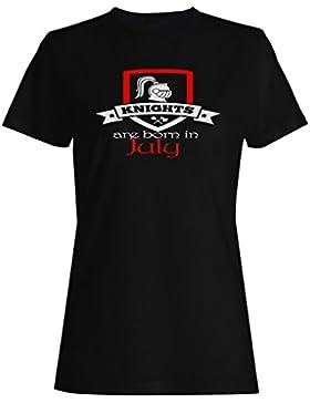 Los caballeros nacen en julio camiseta de las mujeres aa6f