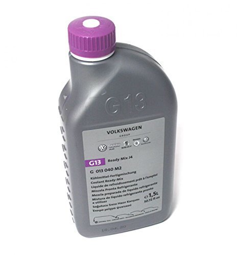 Original refrigerant liquid G13 bottle of 1,5l VW Audi Ready Mix J4