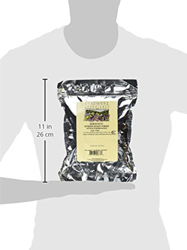 Starwest Botanicals, Astragalus Root Powder, 16 oz (1 lb)
