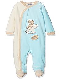 Kinousses Grenouillères Cavalier - Pijama para bebé niño, color azul