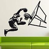 jiushizq Bricolage Décor À La Maison Autocollant Basketball Dunk Sport Mur Art...