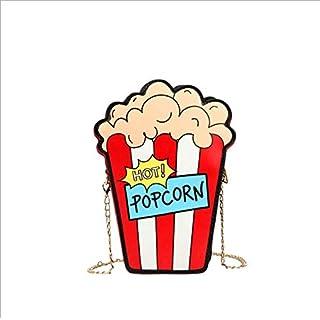 Neue Frauen Tasche Gezeiten Sound Mode Tasche niedlich weiche Mädchen Popcorn Kette Schulter Umhängetasche