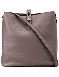 Hogan Tracolla Media Hobo Iconic in Pelle KBW010E0300J5ZC407 Marrone Donna 217e07bc63b