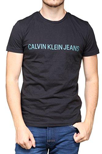 Calvin klein -  t-shirt - uomo nero s