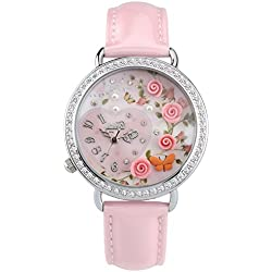 Didofà, Italian Designed Wrist Watch - Women's 3D Water Resistant Wrist Watch ,DF-1094