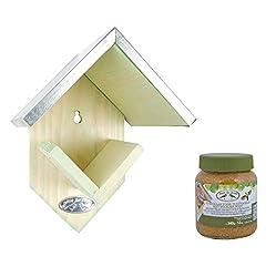 Pflanzenservice Vogelfutterhaus Mit Erdnussbutter, 2.5 L, Braun, 20 X 15 X 13 Cm