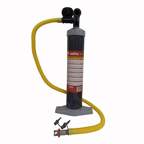Aquaglide Bravo Push Pump - Hochdruck Handpumpe mit Manometer für Kajaks & Stand Up Paddelboards