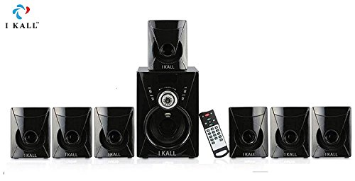 IKALL 7. 1 Channel Bluetooth Multimedia Home Theater System