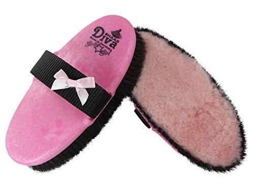 """NEU Kardätsche Haas DIVA """"Girlie Girl"""" in Pink, Schwarz Girlie Style / Größe: 200x85 - besonders schmuseweich"""