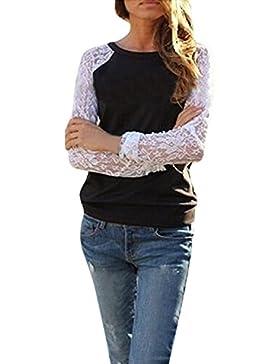 ZANZEA - Camisas - camisa - Manga Larga - para mujer