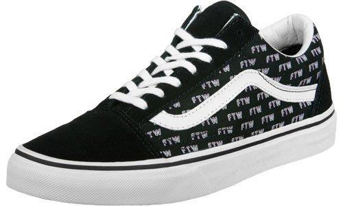 Vans Damen Ua Old Skool Sneakers Schwarz