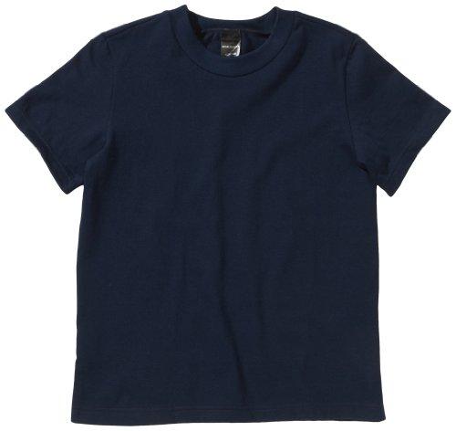 Schiesser Jungen Unterhemd 219619, Gr. 140 (8-9Y), Blau (803-dunkelblau)