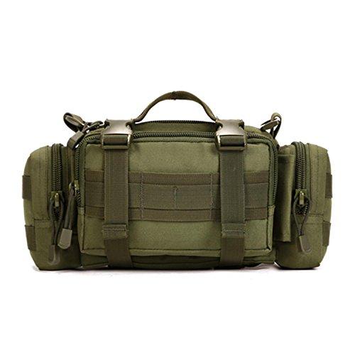 Protector Plus Borsa multiuso borsa da viaggio con borsa a tracolla della vita dell'utensile dell'uomo del sacchetto borsa a tracolla del motociclo , D F