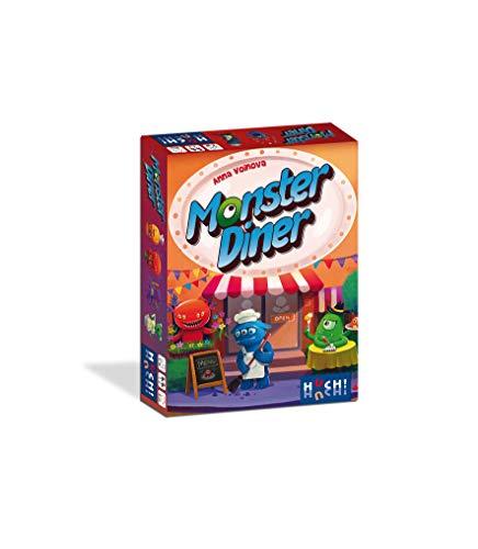 HUCH! Monster Diner Kartenspiel, bunt - S Monster-spiel