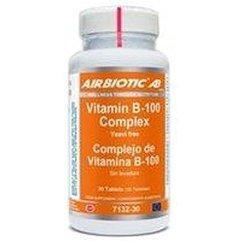 Vitamin B-50 Complex 30 cápsulas de Airbiotic