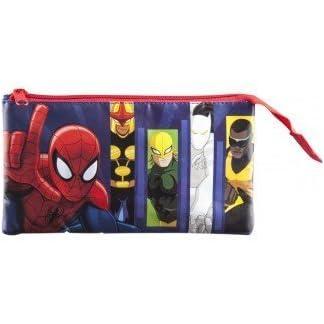 Ultimate Spiderman 3 Compartimentos, Estuche
