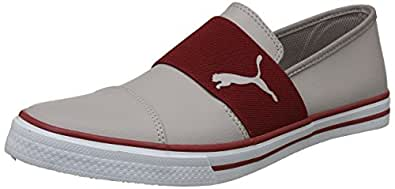 Puma Men's Alpha Slip On Sl Idp Ash-Red Dahlia Sneakers - 10 UK/India (44.5 EU)(4059505840167)