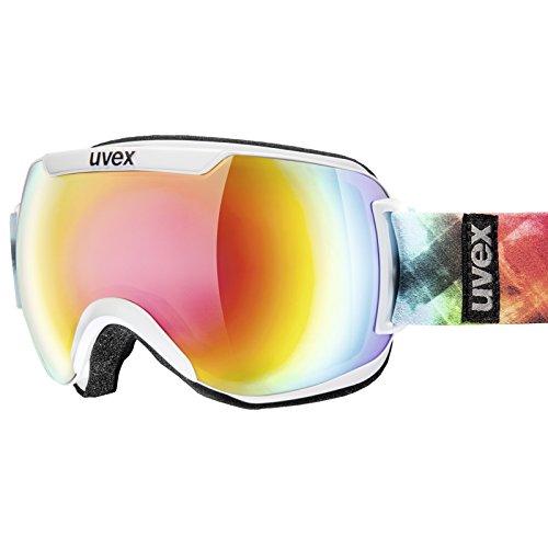 Maschera Uvex articolo 550115 con lente specchiata doppia