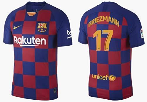 F.C. Barcelona Trikot Herren 2019-2020 Home La Liga - Griezmann 17 (S) -