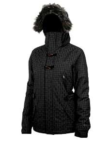 Protest Women's ELIPSE boardjacket  - True Black, Large/40