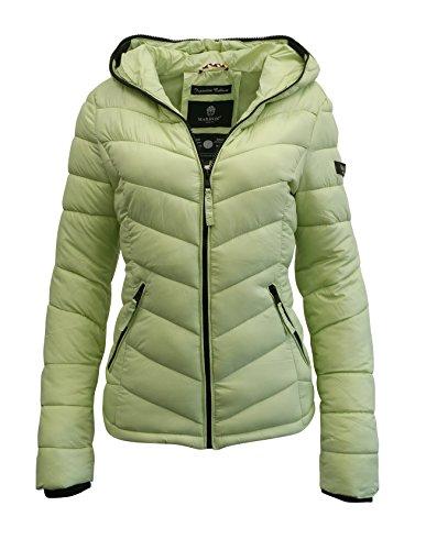 Marikoo - Blouson - Veste damassée - Femme Vert