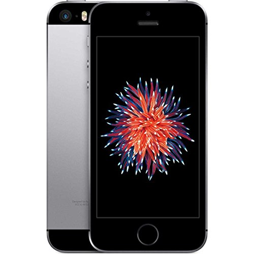 Apple iPhone SE Smartphone (4 Zoll (10,2 cm) Touch-Display, 64 GB Speicher, IOS) grau