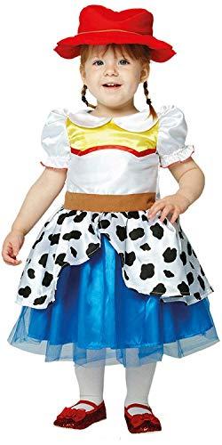 Jessie Toy Baby Kostüm Story - Fancy Me Jessie Toy Story Cowgirl Wild West TV-Filmbuch für Babys, Mädchen, Kleinkinder, Kostüm, Outfit