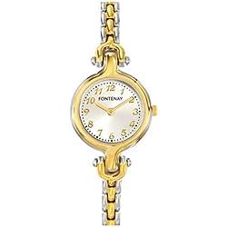 Fontenay Damen-Armbanduhr Analog Quarz Mehrfarbig 317QMXAMX