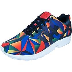 adidas - Zapatillas de Deporte para Hombre Modelo ZX Flux S81651, Hombre, Color Negro, tamaño Size UK 9