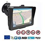 Dbpower 772 GPS HD 7pouces avec nouvelles cartes d'Europe 2016