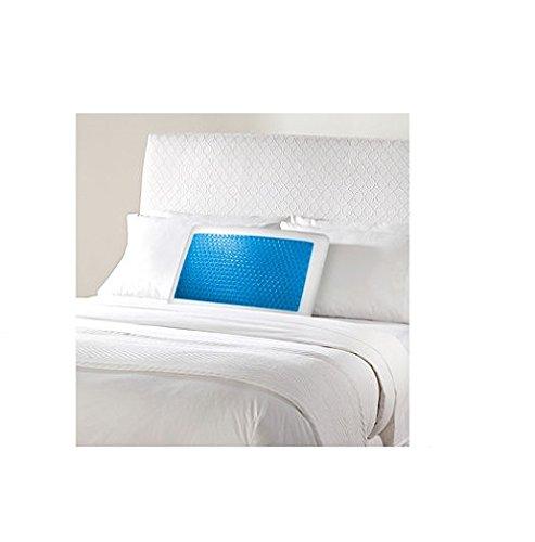 sharper-image-gel-memory-foam-pillow