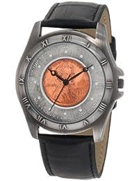 August Steiner redonda de los hombres de trigo Penny Cobre antiguo coleccionistas Coin reloj