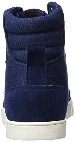 Hummel Damen Slimmer Stadil Herringbone Hig Hohe Sneaker Blau (Peacoat)