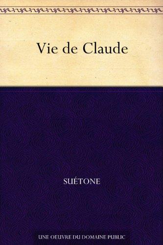 Couverture du livre Vie de Claude