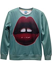Demarkt Fashion Sweat-shirts/Sweat/Sweat Swag Imprimé 3D Image Individualisé sans Capuche M / L/ XL pour les Homme