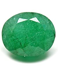 ARIHANT HANDICRAFTS Certified 5.65 Ratti Cultured Emerald Panna Gemstone