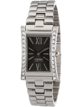Esprit Damen-Armbanduhr Elektra Pure Analog Quarz Edelstahl EL101122F07