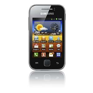 Vodafone Samsung Galaxy Y Pay As You Go Smartphone Handset - Black